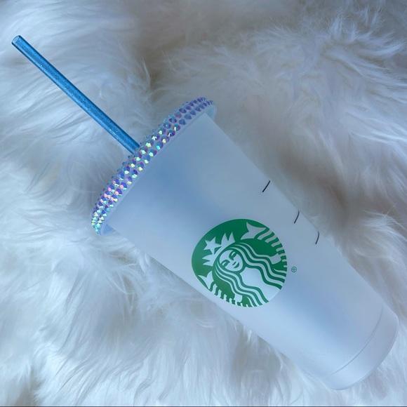 New Rhinestone Bling Starbucks Cup